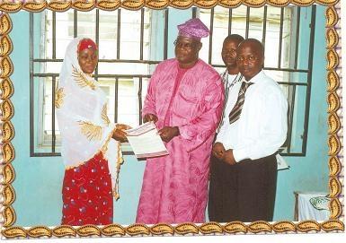 Smi kwara sweet mother international nigeria presentation of appointment letter to asa lga coordinator kwara thecheapjerseys Choice Image