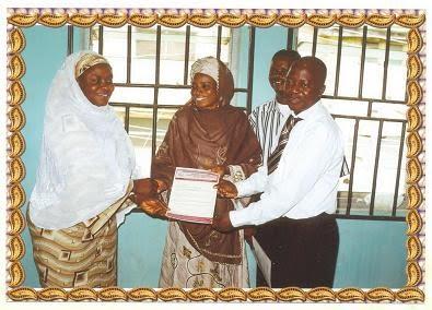 Smi kwara sweet mother international nigeria presentation of appointment letter to ilorin east lga coordinator kwara mr hassan jimoh thecheapjerseys Choice Image